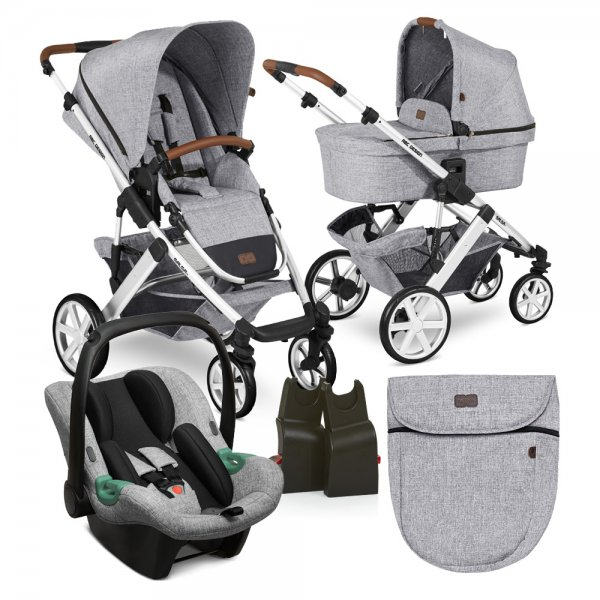 ABC Design SET SALSA 4 2021 Graphite Grey